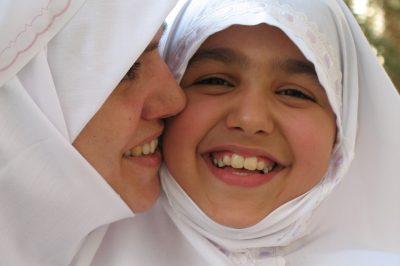 jeunes filles musulmanes