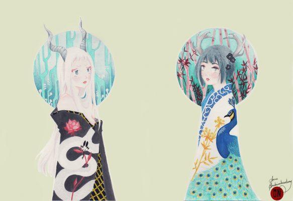ladies of nature manga