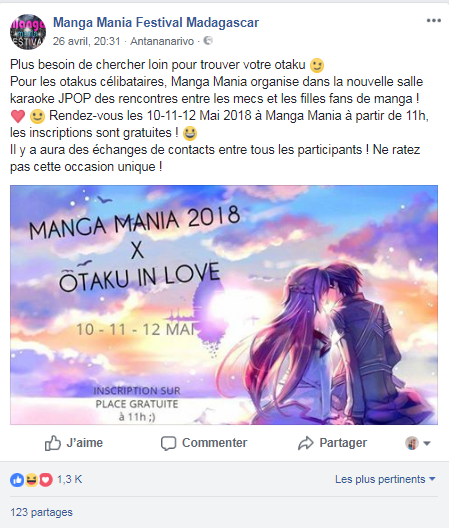 Otaku in love Madagascar