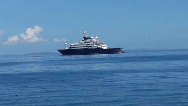 Le bateau de Bill Gates à Nosy Be
