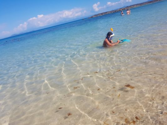 Plage Nosy Tanikely