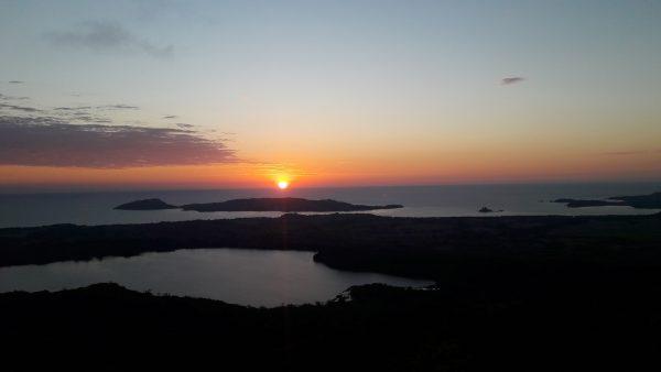 coucher de soleil mont passot