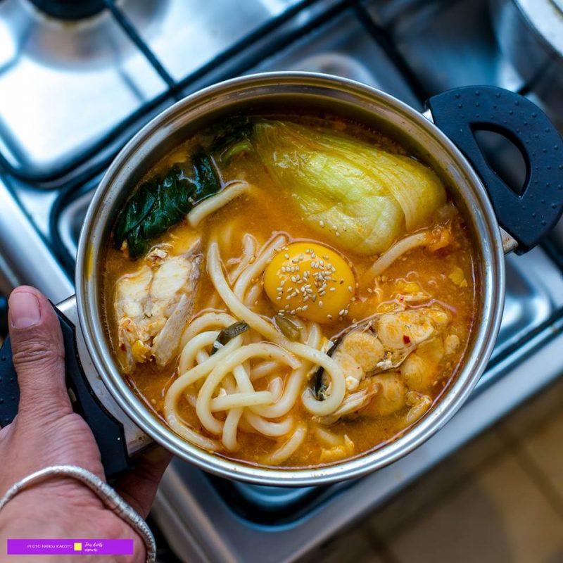 Une bonne soupe coréenne !